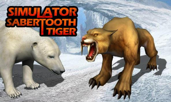 Simulator: Sabertooth Tiger poster