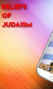 BELIEFS OF JUDAISM poster