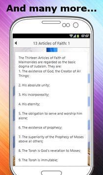 BELIEFS OF JUDAISM screenshot 3