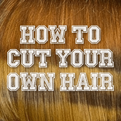 HOW TO CUT YOUR OWN HAIR icon