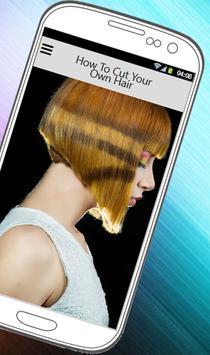 HOW TO CUT YOUR OWN HAIR screenshot 1