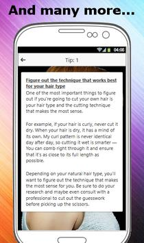 HOW TO CUT YOUR OWN HAIR screenshot 3