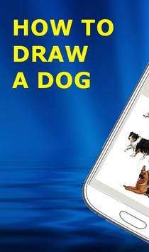 HOW TO DRAW A DOG poster