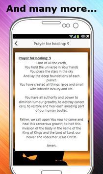 PRAYERS FOR HEALING screenshot 3