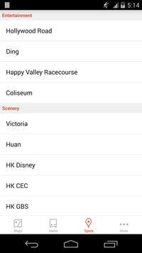 Hong Kong Offline City Map apk screenshot