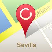 Sevilla Offline Map (GPS) icon
