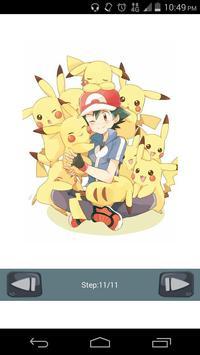 How to Draw Pokemon Art apk screenshot