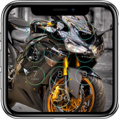 Motorcycle Lock Screen icon