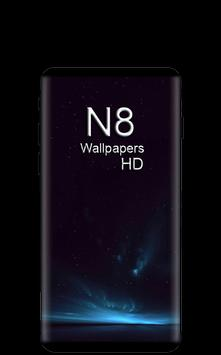 Note 8 HD Wallpapers Free poster