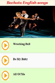 Bachata English Songs apk screenshot