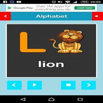 Alphabet ABC For Kids screenshot 1