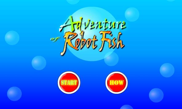 Adventure of Robot Fish screenshot 1
