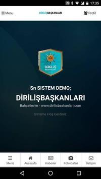 DİRİLİŞ BAŞKANLARI poster