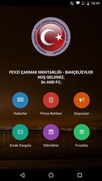 FEVZİ ÇAKMAK MUHTARLIĞI BEVLER poster