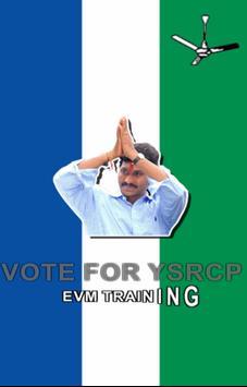 YSRCP EVM Training poster