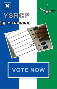 YSRCP EVM Training screenshot 1