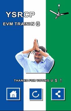 YSRCP EVM Training screenshot 4