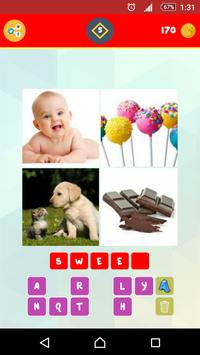 1 Word 4 Pictures Puzzle apk screenshot