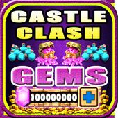 Gems For Castle Clash [ Cheats 2017 ] - prank icon