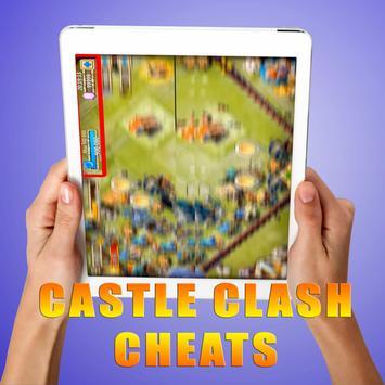 Gems For Castle Clash [ Cheats 2017 ] - prank screenshot 10