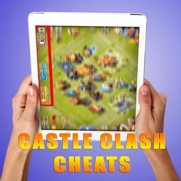 Gems For Castle Clash [ Cheats 2017 ] - prank screenshot 1