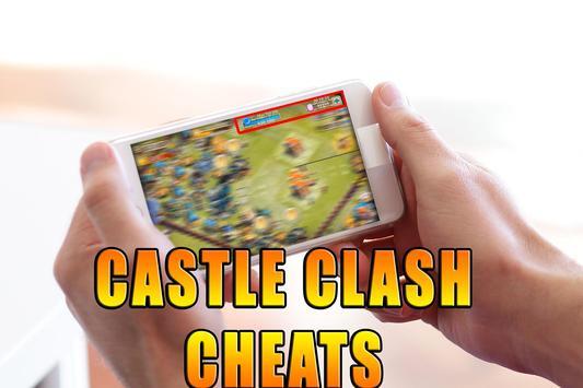 Gems For Castle Clash [ Cheats 2017 ] - prank screenshot 4
