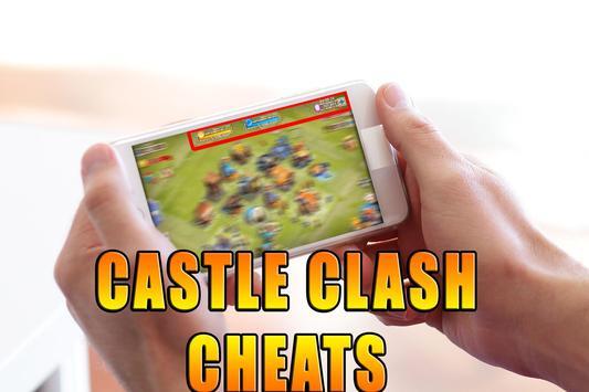 Gems For Castle Clash [ Cheats 2017 ] - prank screenshot 7