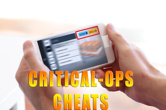 Cheats For Critical Ops [ 2017 ] - prank poster