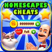 Cheats For Homescapes [ 2017 ] - prank icon