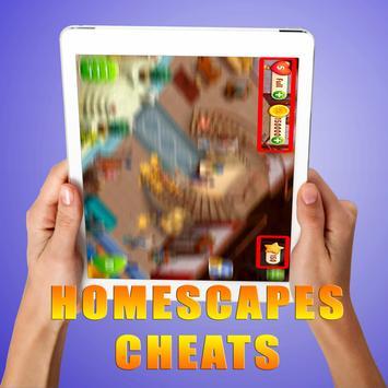 Cheats For Homescapes [ 2017 ] - prank screenshot 1