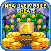 Cheats For NBA Live Mobile [ 2017 ] - prank icon