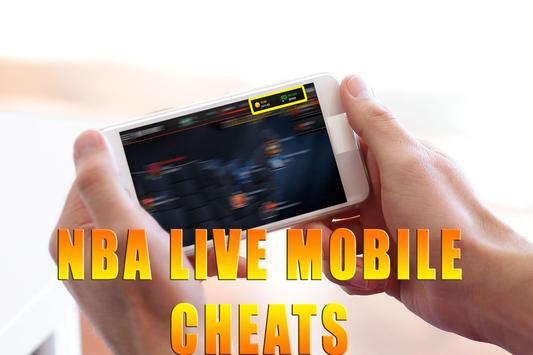 Cheats For NBA Live Mobile [ 2017 ] - prank poster