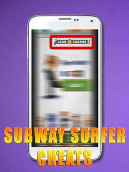 Cheats For Subway Surfers [ 2017 ] - prank screenshot 21