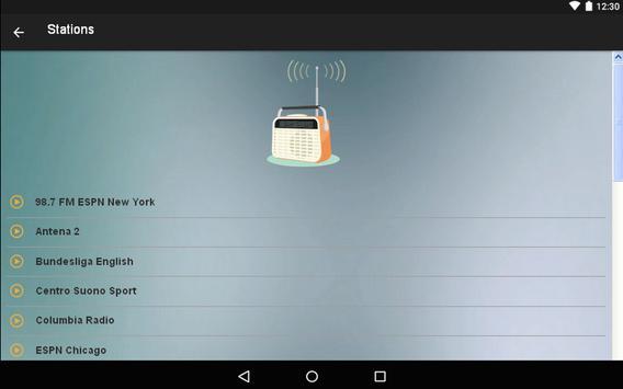 Sports Radio FM Online apk screenshot