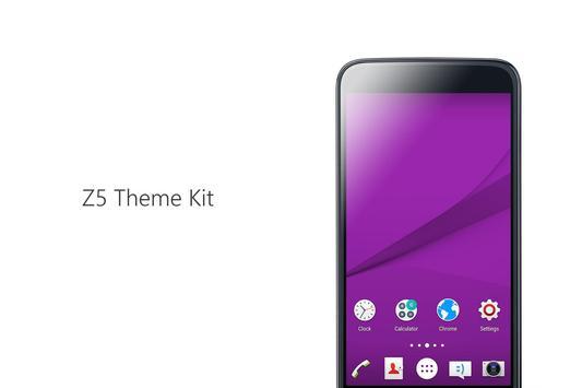 Z5 Theme Kit screenshot 2