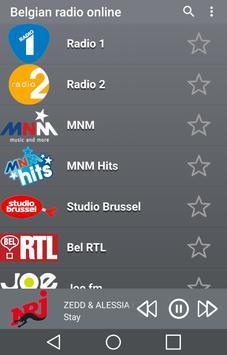 Online Belgian Radio poster