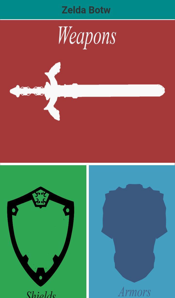 Zelda Botw Weapons List for Android - APK Download