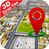Street View Live GPS Map Tracking Voice Navigation icon