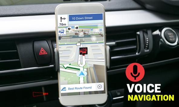 Street View Live GPS Map Tracking Voice Navigation screenshot 1