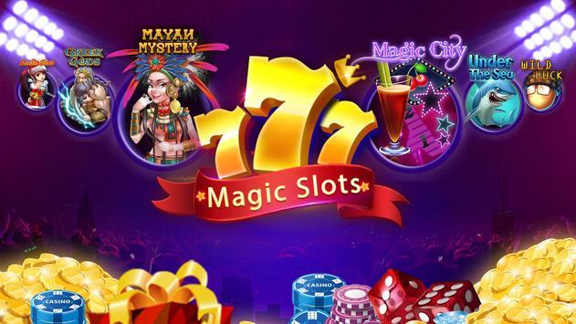 Magic Slots - Las Vegas Slot Machines poster