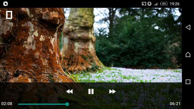 Bass Video Player apk screenshot