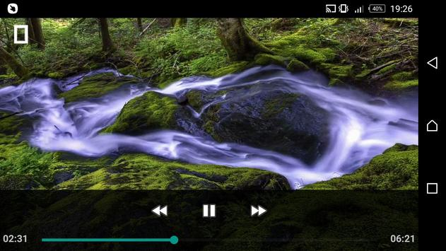 Cinema Video Player screenshot 1