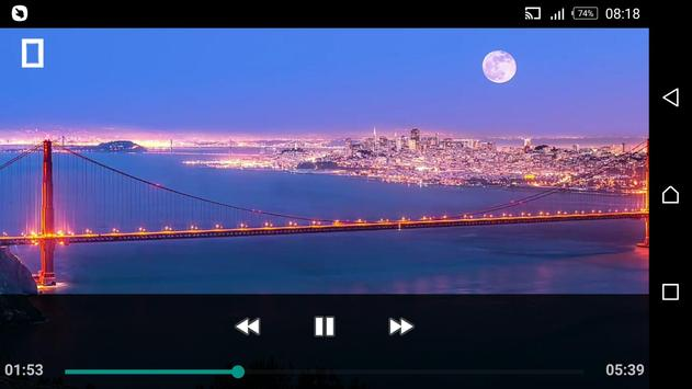 FLV AVI Video Mp4 Player screenshot 1