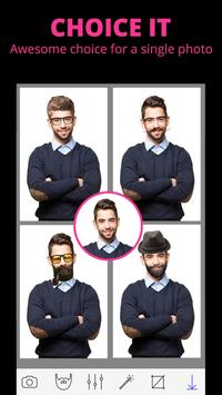 Man Hair Style Photo Editor screenshot 7