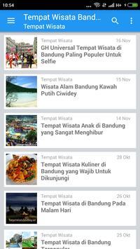 Wisata Bandung apk screenshot