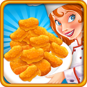 Crispy Chicken Factory Nuggets Game icon