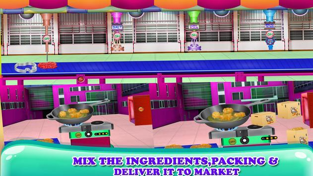 Crispy Chicken Factory Nuggets Game apk screenshot