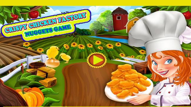 Crispy Chicken Factory Nuggets Game poster