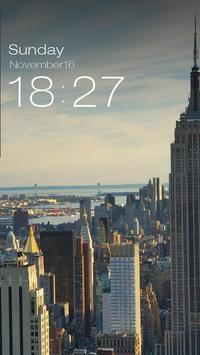 ZUI Locker Theme - New York screenshot 2