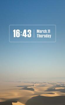 ZUI Locker Theme - Pure Sky apk screenshot